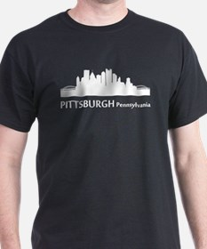 Pittsburgh Cityscape Skyline T-Shirt