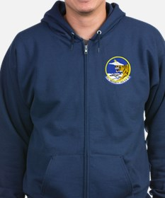 97th Security Police Squadron Zip Hoodie