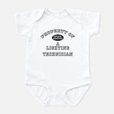 Property of a Lighting Technician Infant Bodysuit