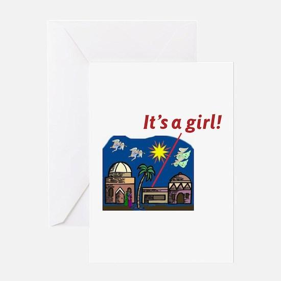 Cute Nativity Greeting Card