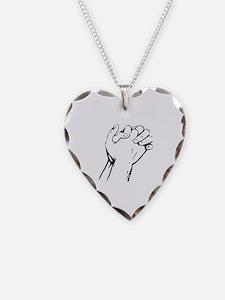 Unique Healing hands Necklace