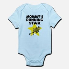 Mommys Running Star Body Suit