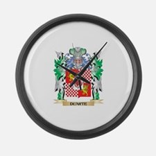 Duarte Coat of Arms (Family Crest Large Wall Clock