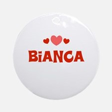 Bianca Ornament (Round)