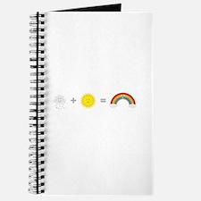 Rain, Sun and Rainbow Journal
