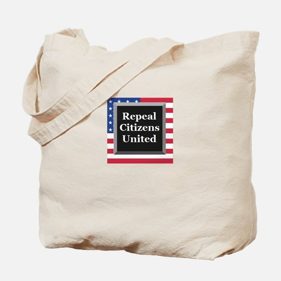 Repeal Citizens United Tote Bag