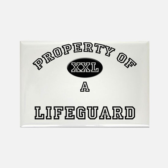 Property of a Lifeguard Rectangle Magnet