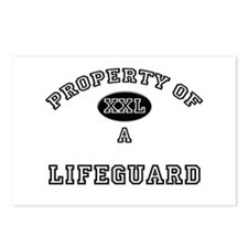 Property of a Lifeguard Postcards (Package of 8)