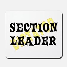 Section Leader Mousepad