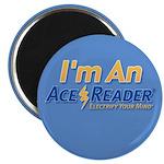 """AceReader 2.25"""" Magnet (10 pack)"""