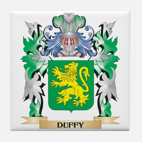 Duffy Coat of Arms (Family Crest) Tile Coaster
