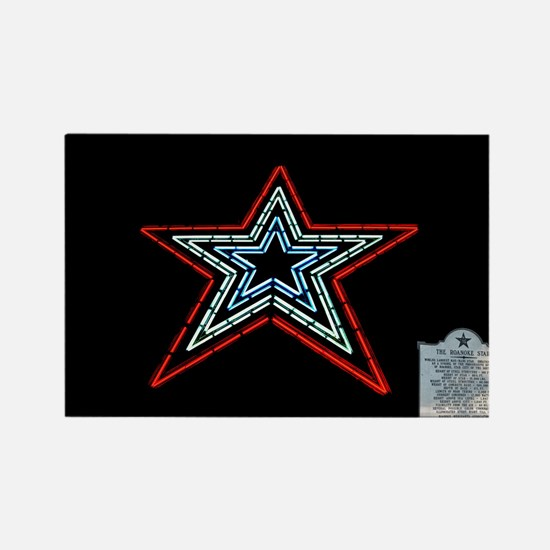 Star with Plaque Magnets
