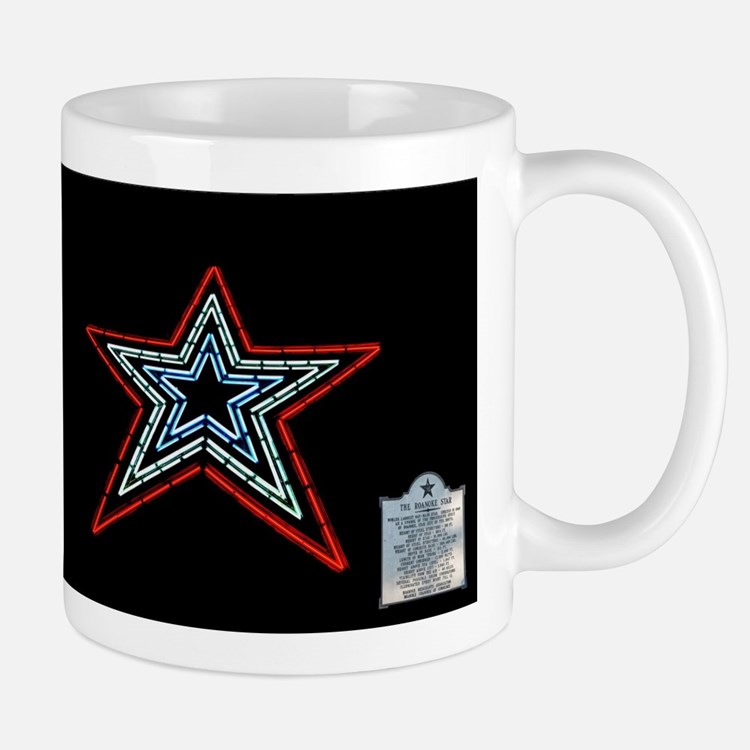 Star with Plaque Mugs