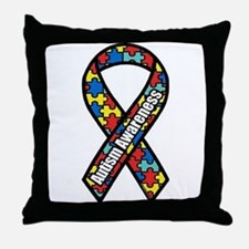 Autism Awareness Throw Pillow