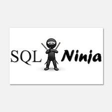 SQL Ninja Wall Decal