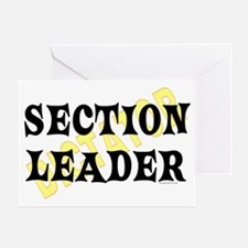 Section Leader Greeting Card