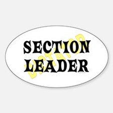 Section Leader Oval Decal