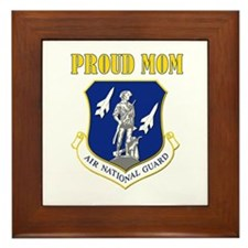 Proud mom Framed Tile