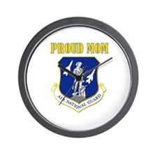 Proud mom Wall Clock