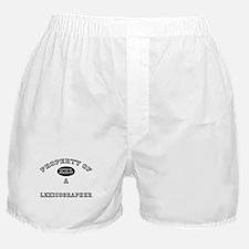 Property of a Lexicographer Boxer Shorts