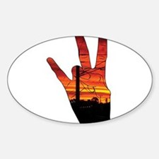 West side hand Decal