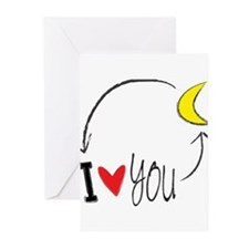 Cute Message love Greeting Cards (Pk of 10)