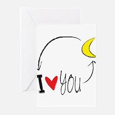 Cute Love Greeting Cards (Pk of 10)