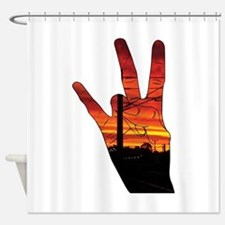 West side hand Shower Curtain