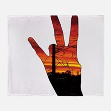West side hand Throw Blanket