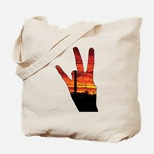 West side hand Tote Bag