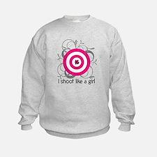 Cute Shooting 2nd amendment Sweatshirt