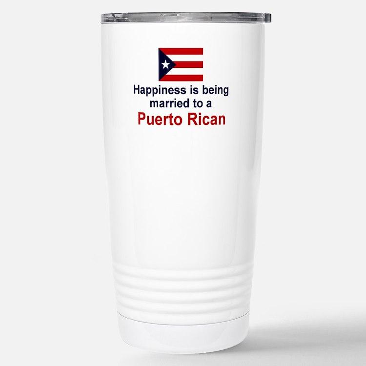 Cute Rican Travel Mug