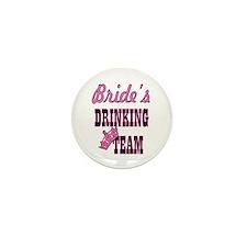 bachelorette bride's drinkin Mini Button (10 pack)
