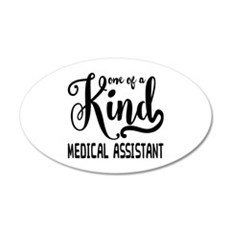Medical Assistant 20x12 Oval Wall Decal