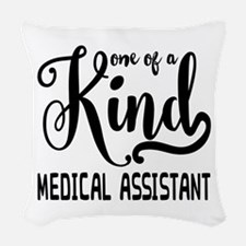 Medical Assistant Woven Throw Pillow