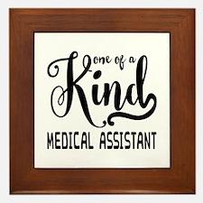 Medical Assistant Framed Tile
