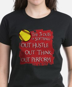 Funny Fastpitch softball catcher Tee