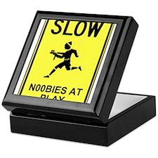 Slow! Noobs At Play! Keepsake Box