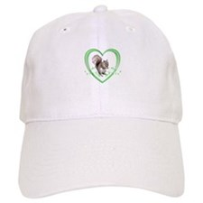 Squirrel in Heart Baseball Cap