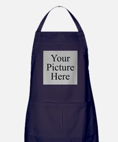 Your Picture Here Apron (dark)