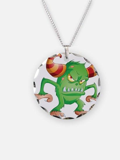 Halloween Monster 3 Necklace