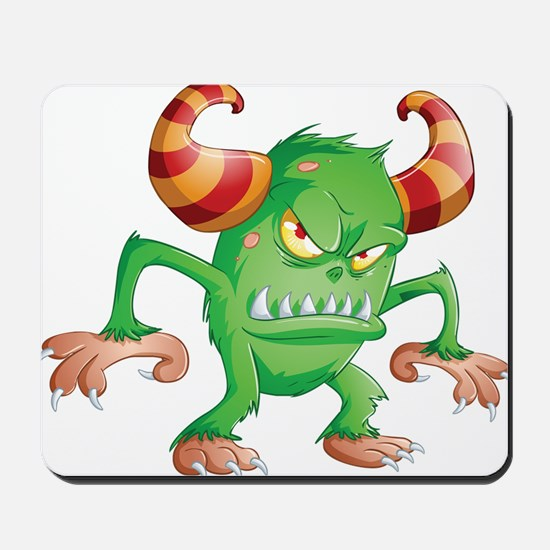 Halloween Monster 3 Mousepad