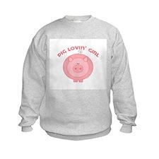 Unique Minecraft pig Sweatshirt