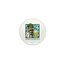 Bavarian Oktoberfest Mini Button (10 pack)
