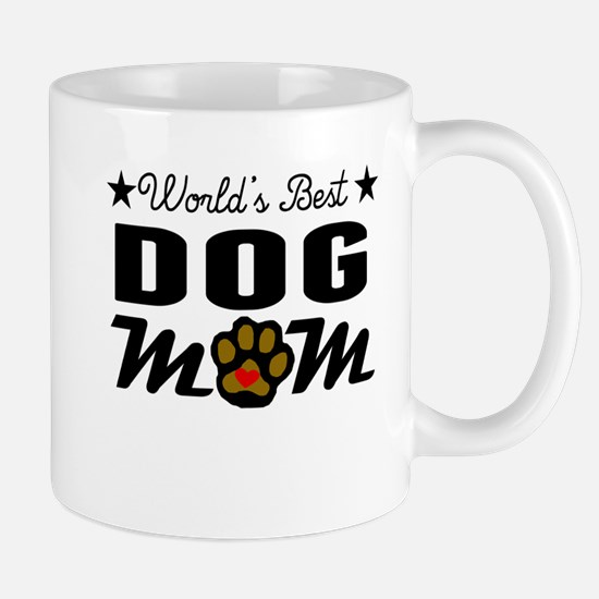 World's Best Dog Mom Mugs