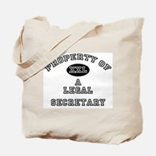 Property of a Legal Secretary Tote Bag