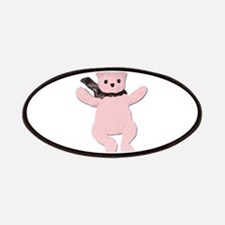 Pink Teddy Bear Patch