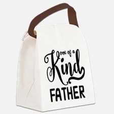 One of a kind Father Canvas Lunch Bag