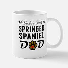 World's Best Springer Spaniel Dad Mugs