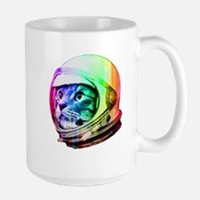 Astronaut Space Cat (digital rainbow ve Mug